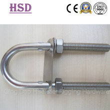 U Bolt and Nut, with Double Washer, Ss316, Ss304, E. Glvanized, Rigging Hardware, Marine Hardware
