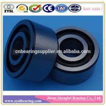 Roulement à billes 5305 à contact oblique à deux rangées en acier inoxydable de longue durée, 25x72x25,4 mm