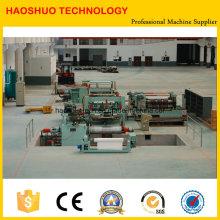 Línea de máquina de corte longitudinal para gran calibre