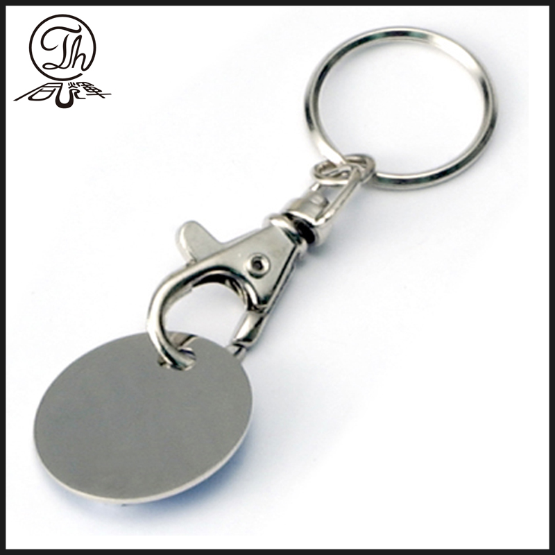 Custom laser engraved logo keychains for men