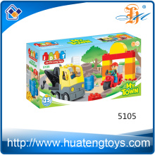 Los juguetes de los juguetes de construcción de la ingeniería gigante caliente de la ingeniería juegan