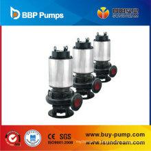 Pompe à eau submersible submersible électrique d'eau d'égout pour le service de l'eau