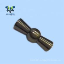 China que fabrica piezas de automóvil mecánicas de torneado de cobre amarillo del CNC