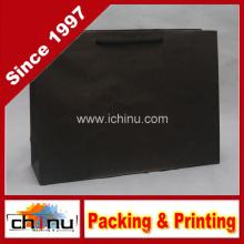 Saco de papel preto Kraft (2124)