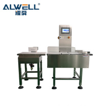 ALWELL automatic conveyor belt weight checker automatic food industry