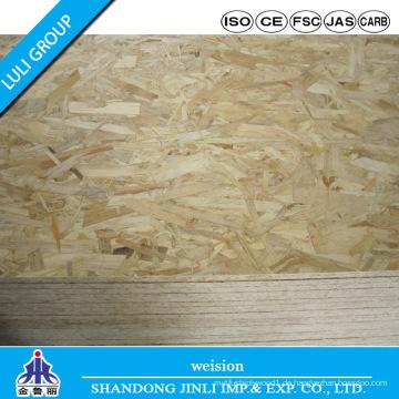 Heiße Verkaufs-OSB-Brett-Hersteller für Chile-Markt
