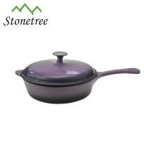 Enameled Cast Iron Sauce Pans