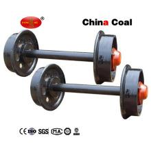 La Chine Ensemble de roue de chariot d'extraction de charbon en acier de fonte!