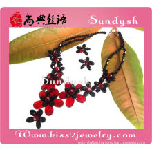 Wholesale Handmade Indian Ruby Necklace Diamond Jewelry