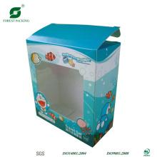 Необычные мультфильм игрушки Упаковывая с окном PVC