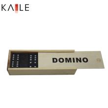 Set de azulejos de dominó de madera profesional
