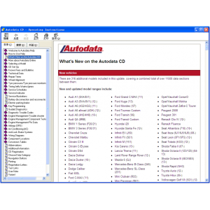 Autodata V3.45 Software Car Transmission
