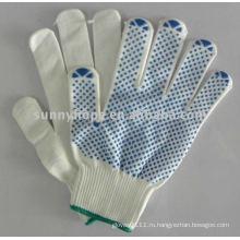 Пвх-пунктирная перчатка для автомобильной промышленности