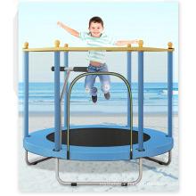 Wholesale Indoor Kids New U-Shaped Armrest Trampoline with safety Net