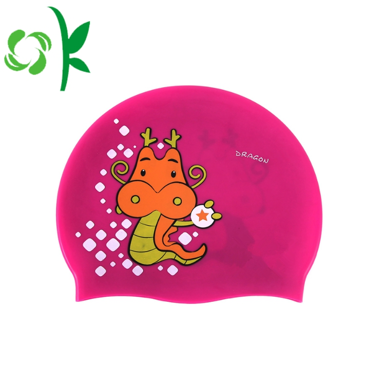 Swim Caps Cartoon For Kids