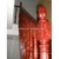 Barandilla de roble rojo balaustre de escalera de madera de alta calidad.