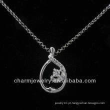 Venda quente CZ 925 prata esterlina pingente 2013 PSS-007