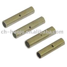 Kupfer-Stoß-Verbindung / Kupferverbindung mit Grübchen