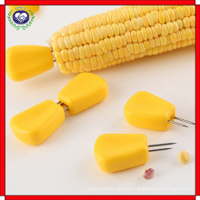 Tenedores de frutas, horquillas de maíz de acero inoxidable, tenedores personalizados