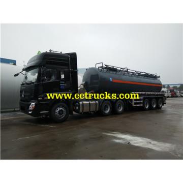 3 Axle Hydrochloric Acid Transportation Tank Trailers