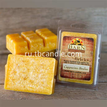 Soy Wax Clamshell Break Away tart melt wickless candle
