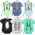 2017 nouvelle mode vente chaude nouveau-né vêtements barboteuse 100% coton
