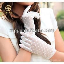 Gants de mariage en dentelle élégante et féminine 2016 pour femmes