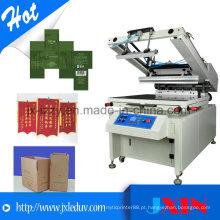 Máquina automática de impressão de papel e seda para venda