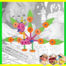 Animal Peacock Toy para creche