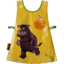 children long sleeves drawing plastic apron