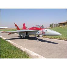 Nuevos juguetes teledirigidos Wltoys F18 RC Avión teledirigido 12CH RC Plane Electric RTF