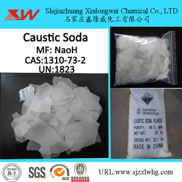 Caustic Soda Flakes 99% Pris