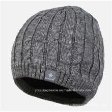 Hotselling мужские шерсть вязаная шапка шляпа Кепка