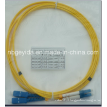 3.0 Sc-LC Sm Duplex Fibra Óptica Patch Cord