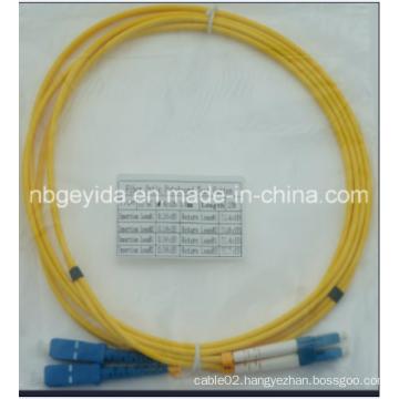 3.0 Sc-LC Sm Duplex Fiber Optic Patch Cord
