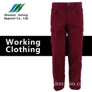 Man's Long Fashion Fuchsia Pants