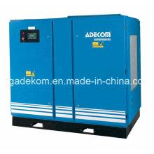 Compresseur industriel de vis d'air refroidi par l'eau industriel injecté par huile (KD55-13)