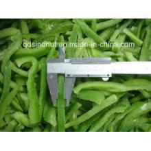 Neuer Ernte gefrorener IQF süßer grüner Pfeffer