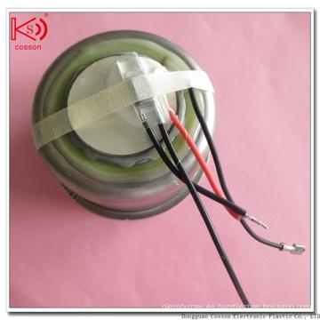 Limpiador de dientes ultrasónico con transductor