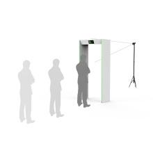 Puerta de medición de temperatura de paso de sensor térmico