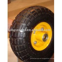 neumático de caucho