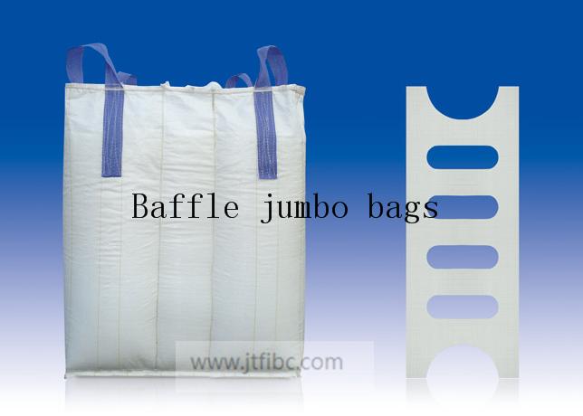 Baffle jumbo bags