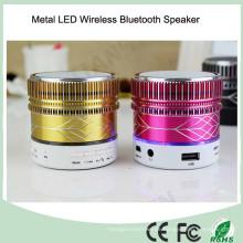 2016 heißer verkaufender Metall drahtloser LED Bluetooth Lautsprecher (BS-118)