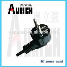 Norme européenne pvc isolé électroménagers Ac Power Cord for 250v