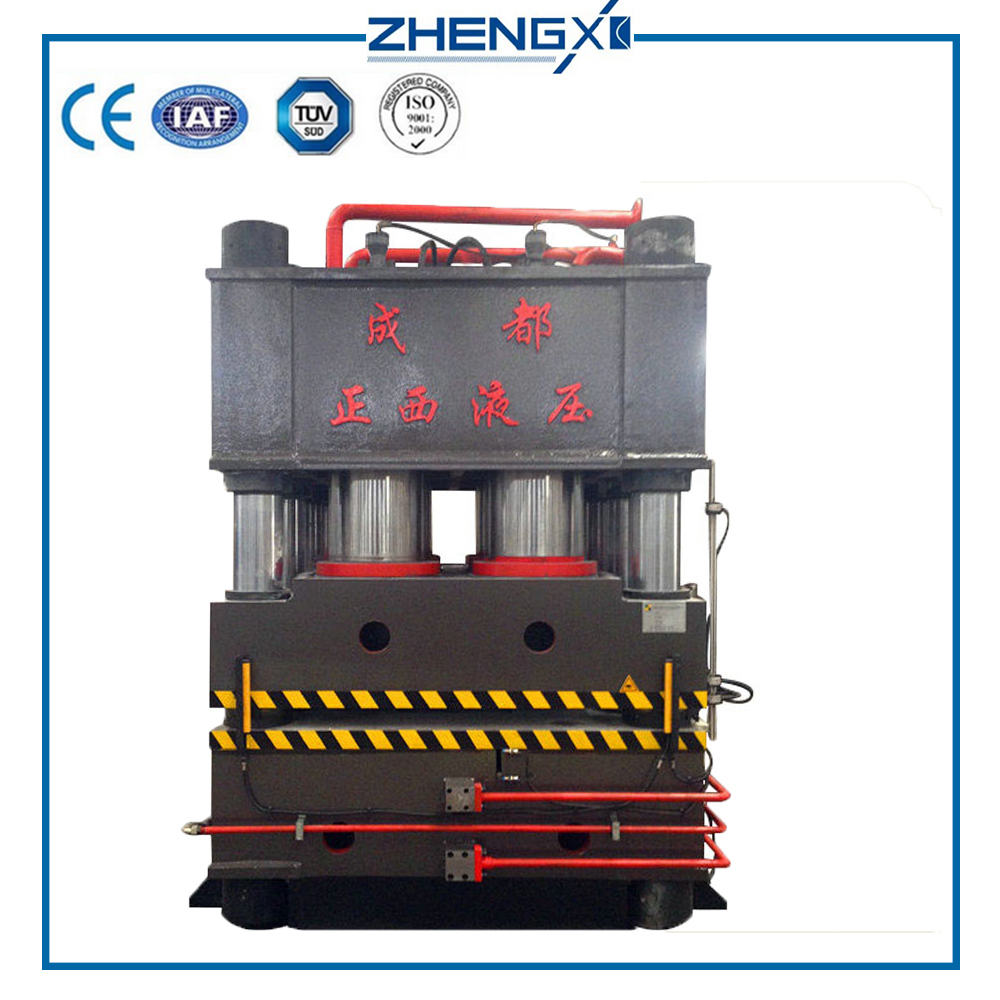 Zhengxi Machinery Factory Best Selling 2400t Door Plate Embossing Hydraulic Press Machine
