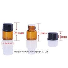 Botella de cristal de la muestra de la botella de Pefume de 1ml 2ml 3ml