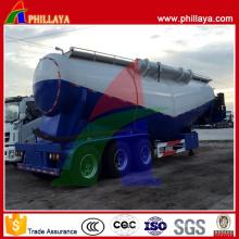 Transporteur de béton et semi-remorque de ciment en vrac de camion-citerne de transport