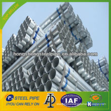 Hot-dipped Q195/Q215/Q235 seamless/welded Galvanized Steel Pipe and tube Made in China