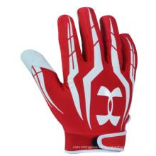 Kundenspezifischer bester Baseball-voller Finger-Handschuh-Spitzenqualität (21215)