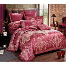 Ensemble de literie de luxe Jacquard pour lit et housse de couette Housse de lit et oreillers